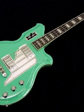 Airline Map Bass - Seafoam Green - Left Handed