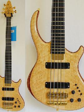 Alembic Rogue 5 String Birdseye Maple with LEDs - Showroom