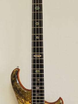 Alembic Series Ii 4-String Buckeye Burl w/ Balanced K-Body - Showroom