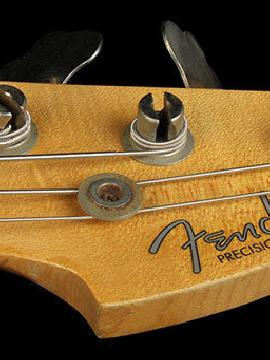 Fender Custom Shop 2013 Namm Heavy Relic Precision Bass Vintage Blonde