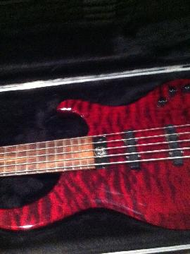 Modulus bass guitar 5 string