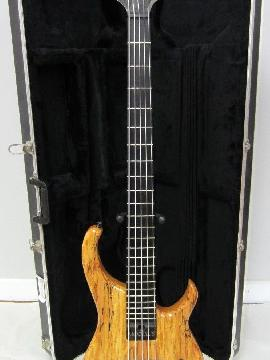 Modulus Q5 Quantum Graphite Carbon Fiber Neck 5 String Bass w/ Spalted Maple Top