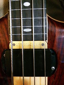 Short scale bass rare Alembic One of a kind
