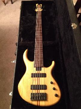 Tobias 6 String Bass Guitar