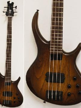 Tobias Growler 4-String Bass - Tobacco Sunburst - Showroom