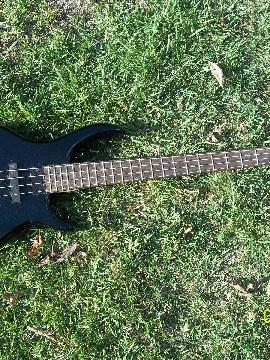 Tobias Toby Bass 4 String Black Finish Maple Neck Precision Style Pickups