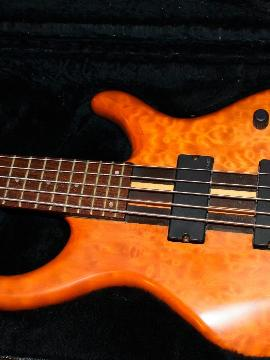 Tobias Toby Pro 5 String Electric Bass Guitar Emg Pickups