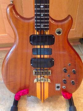Vintage 1978 Alembic Series I bass