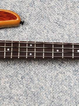 Zon Mosaic Standard 4 String Electric Bass, New/old Stock - Clearance Sale!